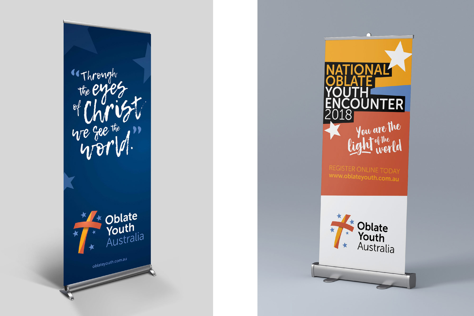 Image of Oblate Youth Australia branding and new logo